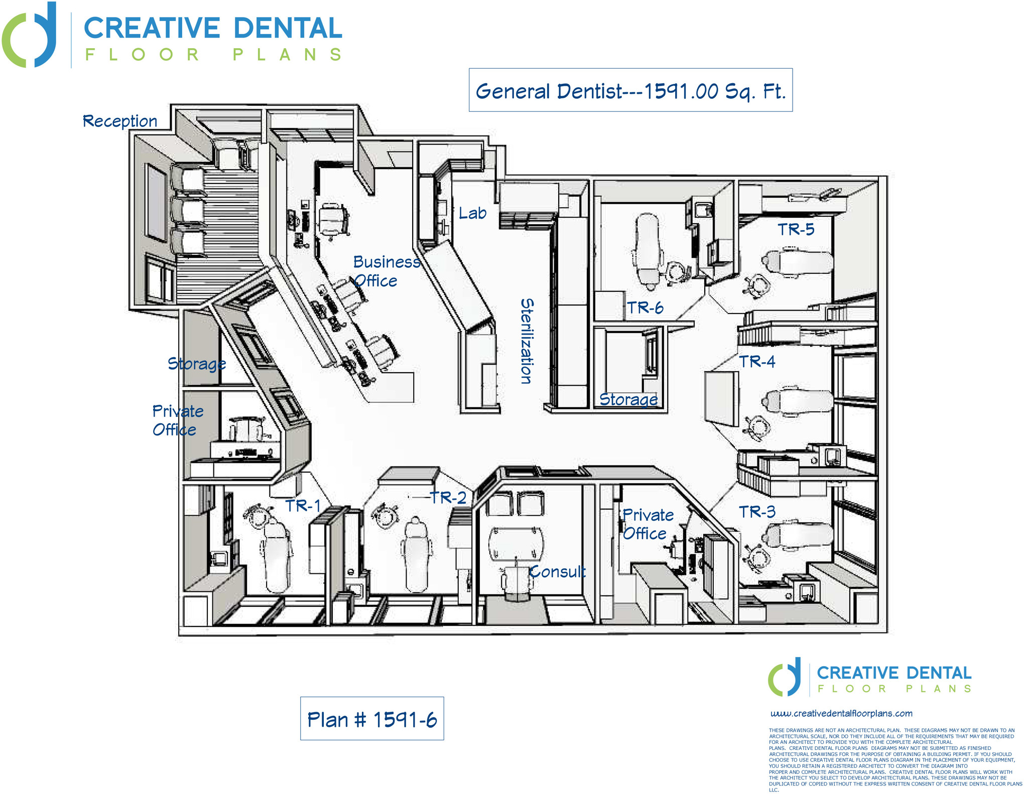 Dental Office Design   General Dentist Floor Plans