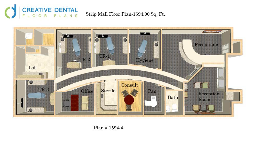 Creative dental floor plans general dentist floor plans for Two story office building plans