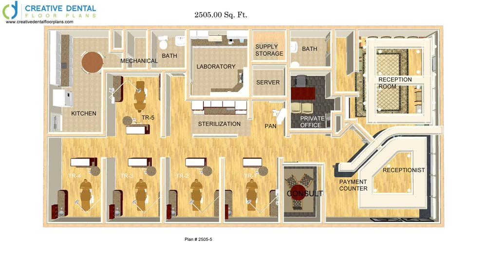 creative dental floor plans | general dentist floor plans