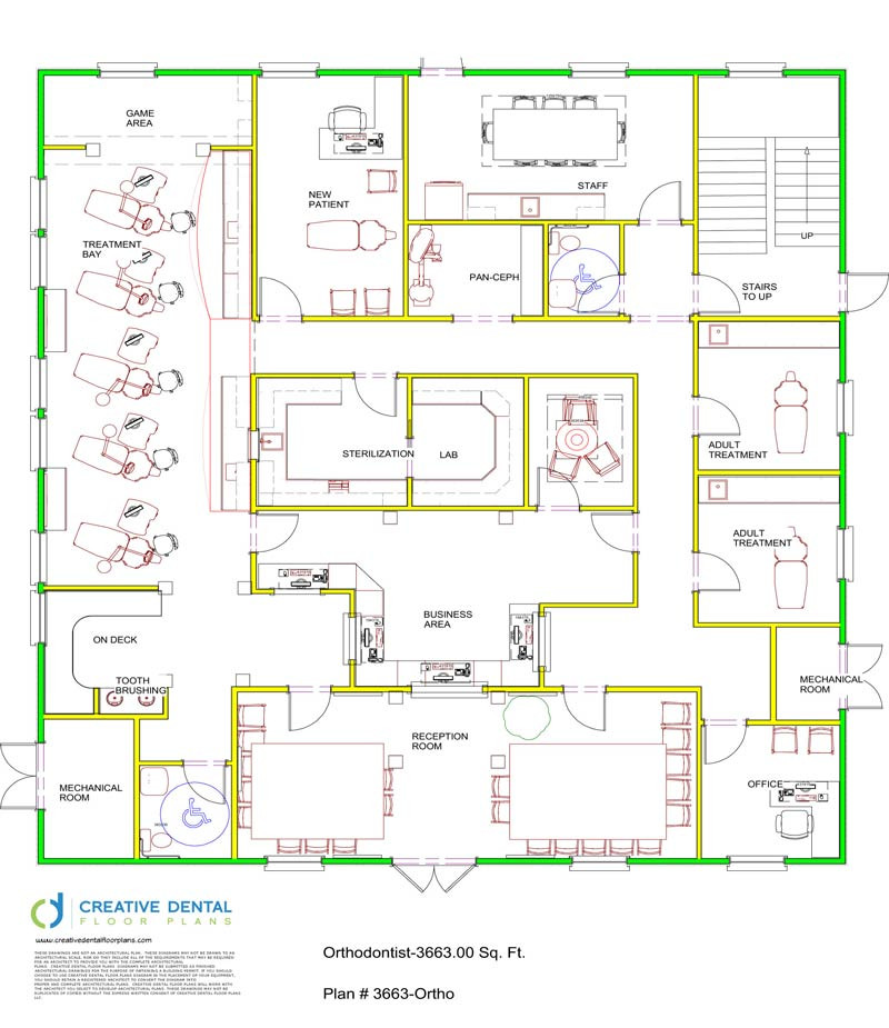 800 sq ft office plan home design ideas and pictures for Dental office design 1500 sq ft